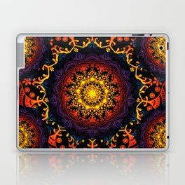 'Bohemian Summer' Multi-Coloured Mandala Laptop & iPad Skin