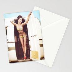 trailer park girl Stationery Cards