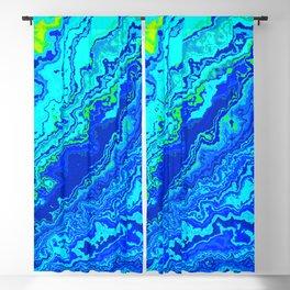 Vibrant Marble Texture no58 Blackout Curtain