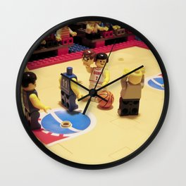 Oh my lego ! Don't do that ! Wall Clock
