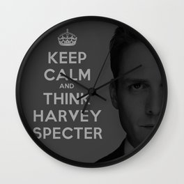 KEEP CALM - HARVEY SPECTER SUITS Wall Clock
