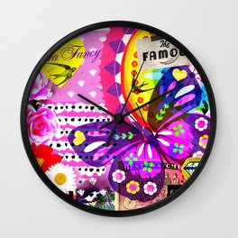 Fried Rice Wall Clock