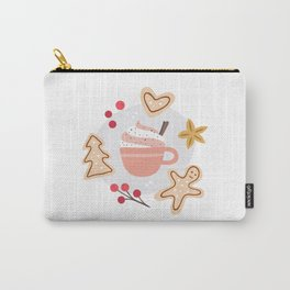 Cozy Winter Vibes Carry-All Pouch