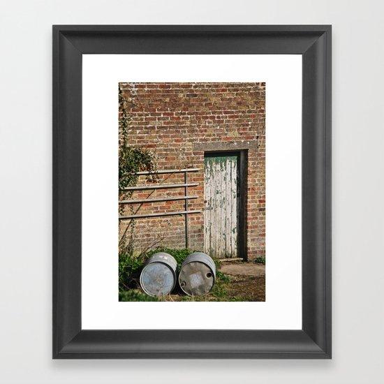Stables Framed Art Print