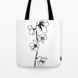 Large-flowered Wintergreen Tote Bag