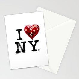 Banksy * I Love New York Stationery Cards