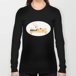 Maki Neko Long Sleeve T-shirt