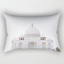 taj mahal in agra Rectangular Pillow