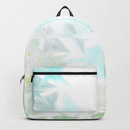 Abstract minimalist pastel landscape Backpack