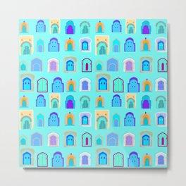 Moroccan Doors Metal Print