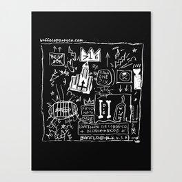 BASKEY BFLO Canvas Print
