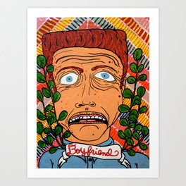 Curtis Art Print