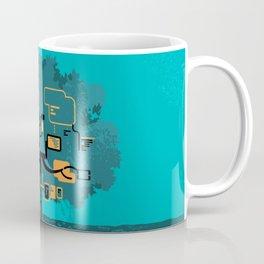 Digital Tree Coffee Mug
