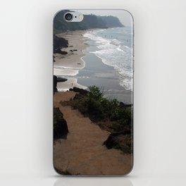 Steps Down to the Beach Varkala iPhone Skin