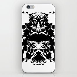 Moustached Knight iPhone Skin