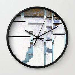 Grid No.1 Wall Clock