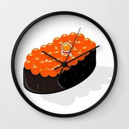 Space Odyssey Sushi | Astronaut Sushi | Space Sushi | Galaxy Sushi | Ikura Sushi | pulps of wood Wall Clock