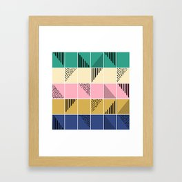 Mosaic #1 Framed Art Print