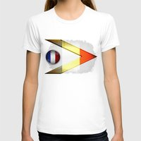 france T-shirts featuring France by ilustrarte