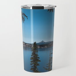 peaking through the pines Travel Mug