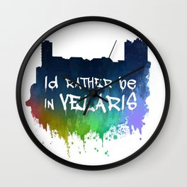 I'd Rather Be In Velaris Wall Clock