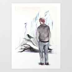 Re: Stacks Art Print