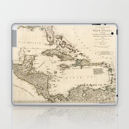 Map of the West Indies by Samuel Dunn (1774) Laptop & iPad Skin