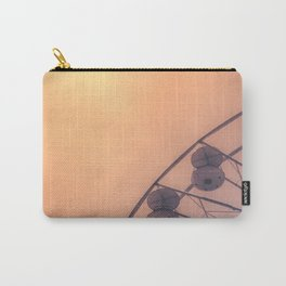Golden Ferris-wheel -France, Europe, Wanderlust Vintage Summer Travel Architecture City Photography  Carry-All Pouch