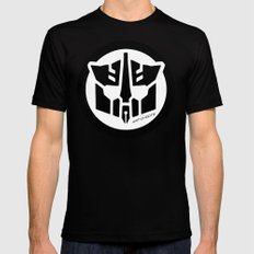 Art-O-Bots Black MEDIUM Mens Fitted Tee