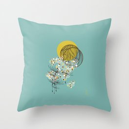 Seasons Time Space Throw Pillow