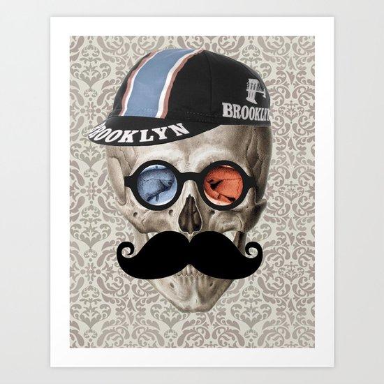 Brooklyn Cycling Club Art Print