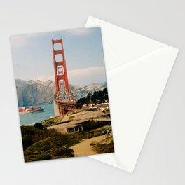Golden Gate Bridge shot on film Stationery Cards