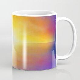 Sunset Reindeer Coffee Mug