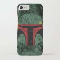 boba iPhone & iPod Cases featuring Boba Fett by Some_Designs