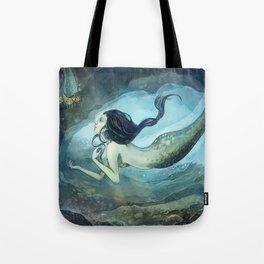 mermaid treasure Tote Bag