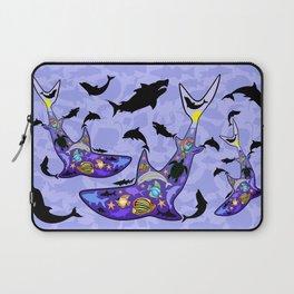Shark MarineLife Scenery Patterned Laptop Sleeve