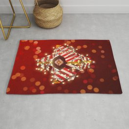 Jolly Ghost Shell Rug