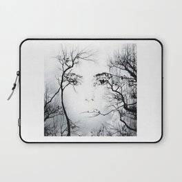 face in the trees Laptop Sleeve