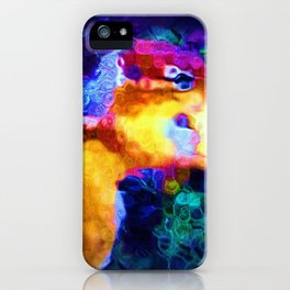 Abstract Chipmunk on the St. Lawrence iPhone Case