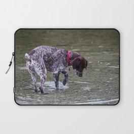 German Shorthaired Pointer Dog Laptop Sleeve