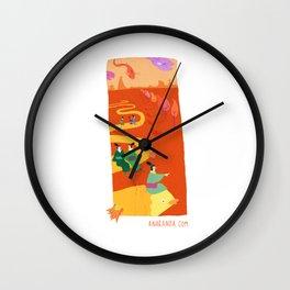 Geishas at sea 2 Wall Clock