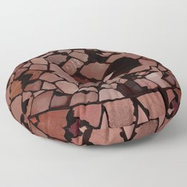 Mosaic - Red Ruby Floor Pillow