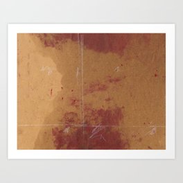 mappale 001 Art Print
