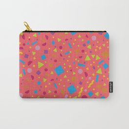 Geometric Multicolor Background III Carry-All Pouch