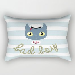 Bad boy Rectangular Pillow