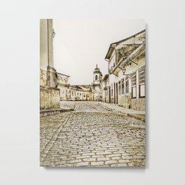 Historical city Metal Print