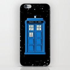 TARDIS in Space iPhone & iPod Skin