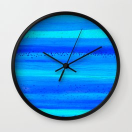 Blue Sky Blue Waters Wall Clock