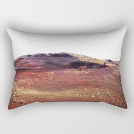 Rainbow rocks, Iceland Rectangular Pillow