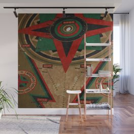 Slotted 4 Wall Mural
